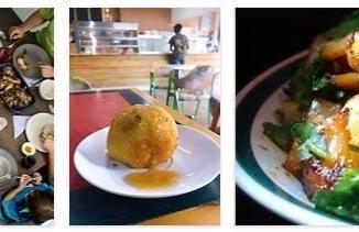 Eating in Guyana
